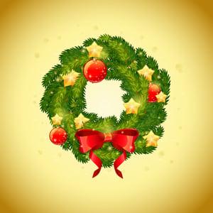 Christmas wreath vectortuts400 small