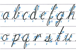 Cursive calligraphy feature image