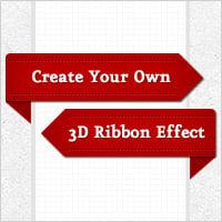 Ribbon effect preview