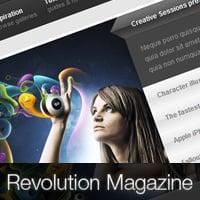 Revolution wordpress theme