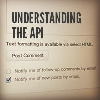 Creating customized comment emails understanding the api
