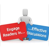 How to engage readers into effective discussions