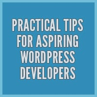 Practical tips for aspiring wordpress developers