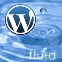 Fluid responsive wordpress