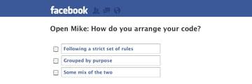 How do you arrange your code?
