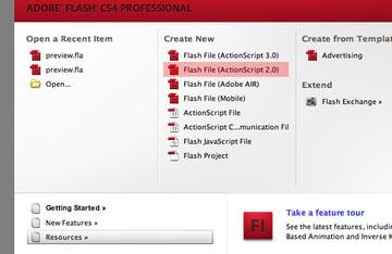 ActionScript Flash File