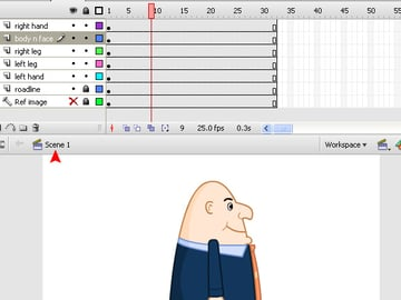 animation in flash with tweens