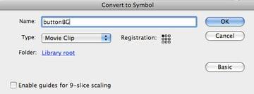 Convert to symbol.