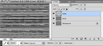 draw horizontal lines