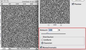 Noise Filter Settings