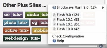 FlashSwitcher compatibility Flash Player