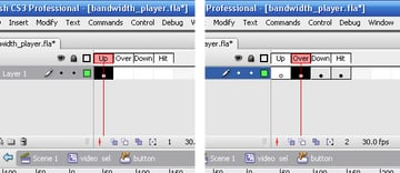 Flash bandwidth streaming video player