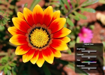image manipulation in Flash and AS3 with ColorMatrixFilter
