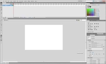 Create a .FLA document