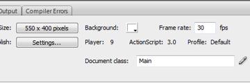 Making an external class as Document class