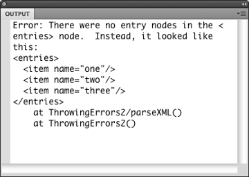 Another helpful run-time error