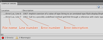 The Compiler Errors Panel, Again