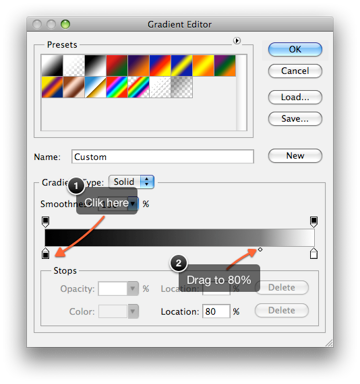 Editing the Gradient Map