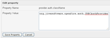 provider auth classname
