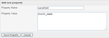name field