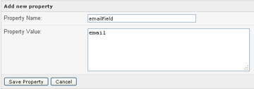 email field
