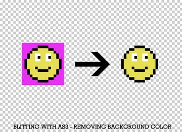 Blitting in Flash: removing background