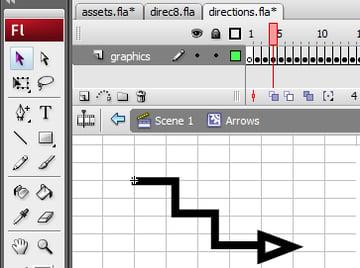 Create graphics in Flash Ide