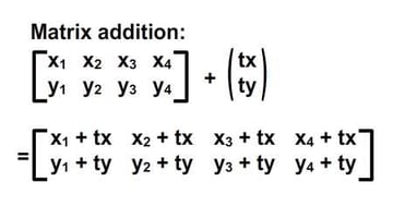 Notation of matrix addition, differentiated