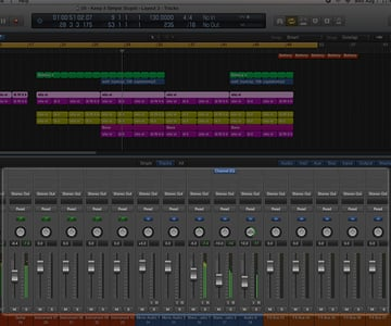 Digital Audio Workstation software will provide you with a feature-rich mixing console that mimics its real world counterpart