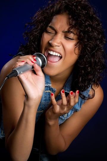 Black Female Singer