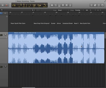Adding project markers of a reference song is a great way to flesh out how you can keep your own production moving forward