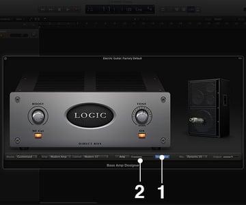 """Bass Amp Designer features a D.I. Modeled after a <em>""""highly regarded American D.I. unit""""</em>"""