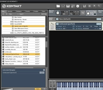 Loading a Drum Sample