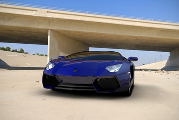 Cgtuts+ Lamborghini Render Artist Critique