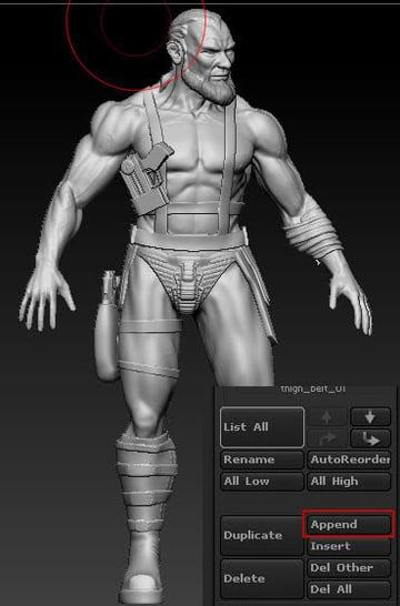 Tutorial Warrior Character in Autodesk Maya and Pixologic ZBrush