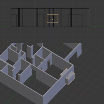 Free Blender Tutorial Create A 3D Floor Plan From An Architectural Schematic