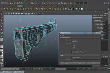 Tutorial Creating A Futuristic Weapon In Maya