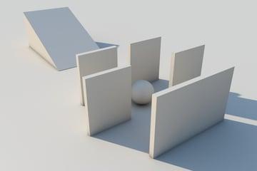 Tutorial Autonomous Doors in Cinema 4D using Xpresso nodes