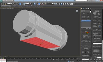 Autodesk 3D Studio Max Tutorial - Modeling a high poly AK47 Rifle using polymodeling techniques,