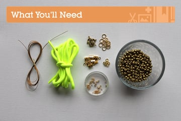 Neon-Rope-Necklace-Materials