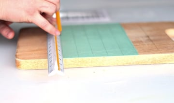 calendar tut- step 4-divide in squares 1