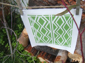 Hang your print to dry