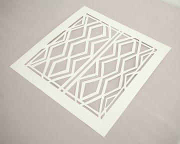 Cut out your stencil