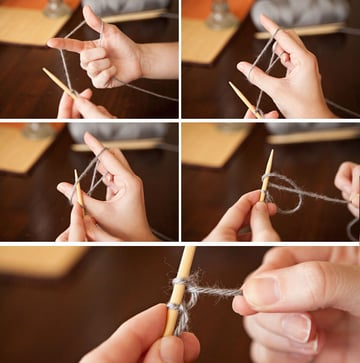 How to Cast Onto the First Needle
