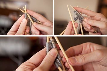 How to Knit the First Round