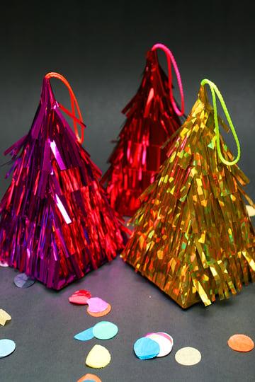 Finished Product of Christmas Piñata