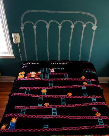 Donkey Kong blanket