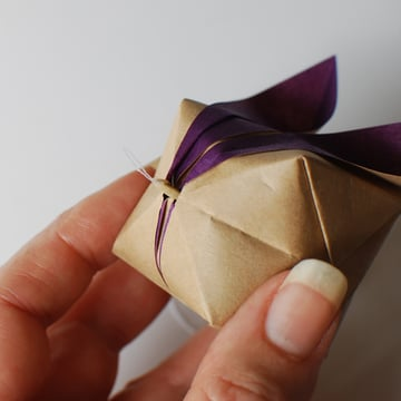 origami bunny mobile step 1c