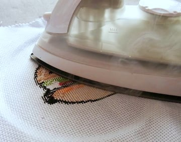 Step 5 - Ironing Your Stitches