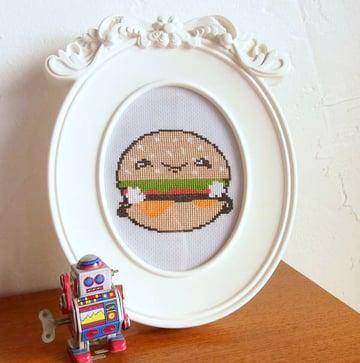 Final Framed Burger